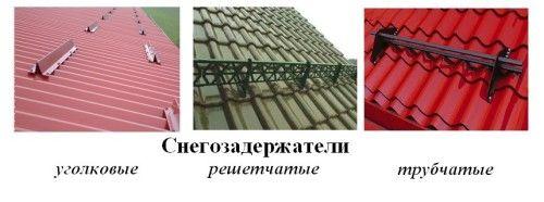 Фото - Як правильно провести монтаж снегозадержателей на дах будинку