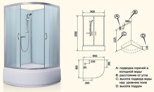 Як правильно зробити установку парогенератора душової кабіни?