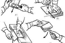 Фото - Як правильно працювати ручним плиткорезом?