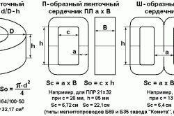 Схема пристрою зварювального трансформатора