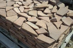 Конструкція доріжок, з покриттям з природних каменів