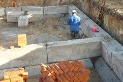 як зробити фундамент для будинку з блоків