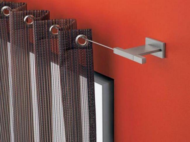 Фото - Як правильно зробити кільця на штори