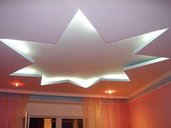 Фото - Як правильно зробити на стелі зірку з гіпсокартону?