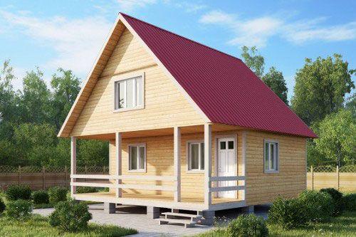 Фото - Як правильно сконструювати двосхилий дах?