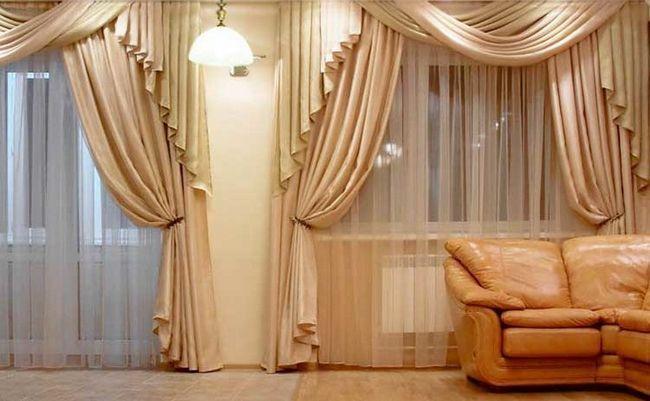 Фото - Як правильно зшити штори на підкладці своїми руками?