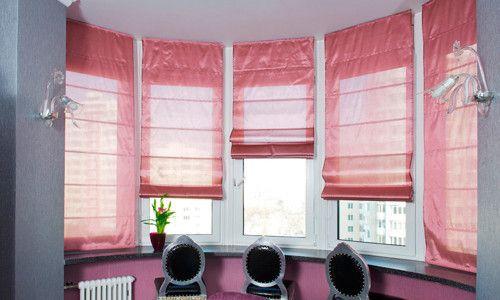 Фото - Як правильно прати римські штори