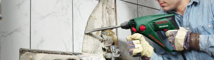 Фото - Як правильно прибрати плитку зі стіни і підлоги