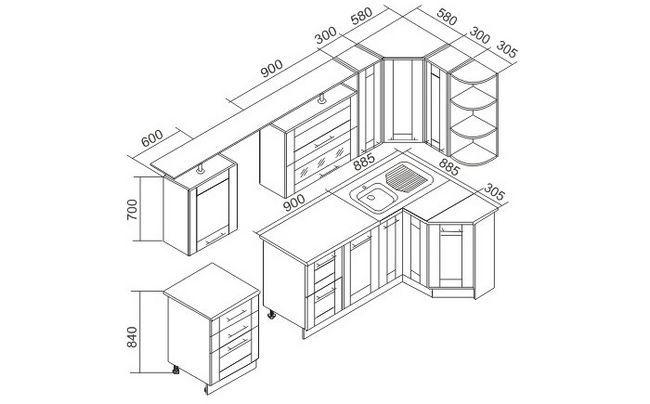 Фото - Як правильно встановити кухонний гарнітур?
