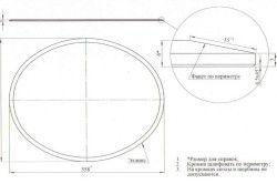 Схема монтажу стільниці