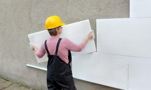 Фото - Як правильно утеплити будинок пінопластом?