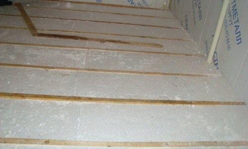 Фото - Як правильно утеплити підлогу пінополістиролом
