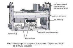 Принципова електрична схема инверторной зварювання