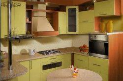 Дизайн кухні в світлих тонах