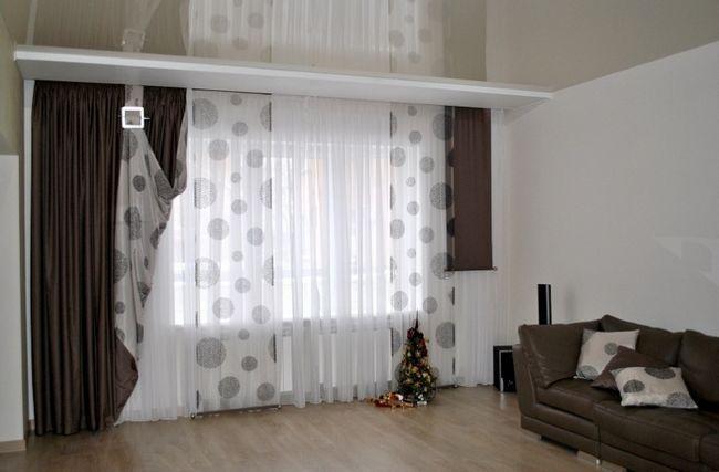 Фото - Як правильно вибрати штори для залу?