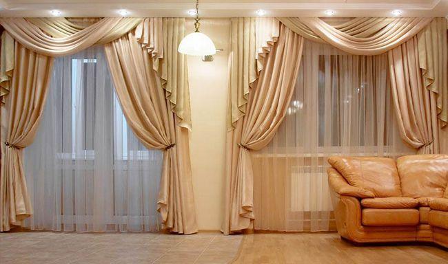 Фото - Як правильно вибрати штори в вітальню?