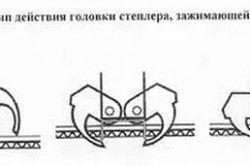Принцип дії головки степлера