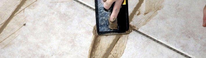 Фото - Як правильно затирати кахельну плитку?