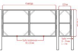Фото - Як прикріпити ворота до стовпів з цегли