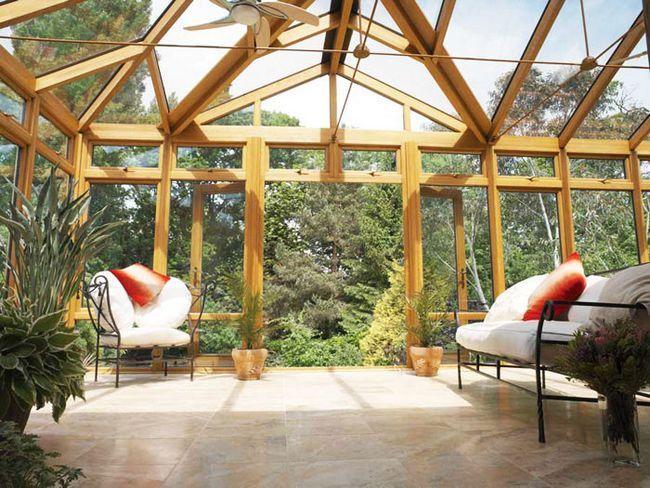 Фото - Як прилаштувати терасу до кам'яного або дерев'яного будинку?