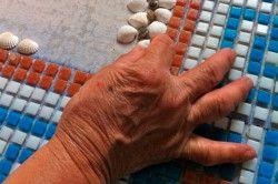 Укладання поштучного мозаїки