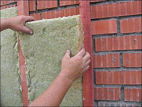 Теплоізоляція стін будинку