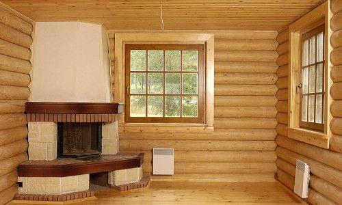Фото - Як проводиться внутрішнє оздоблення дерев'яного будинку?