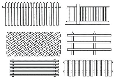 Як просто зробити паркан для палісадника самостійно?