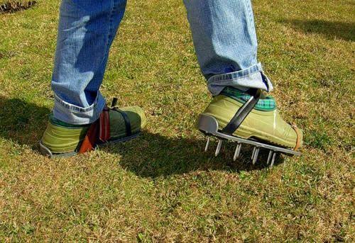 Фото - Як провести аерацію газону інструментами, зробленими власноруч?