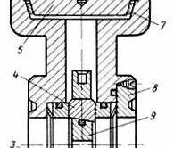 Схема швидкозмінного штуцери для фонтанної арматури високого тиску