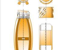 Схема збірки центрирующих ліхтарів