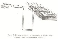 Схема випилювання лобзиком