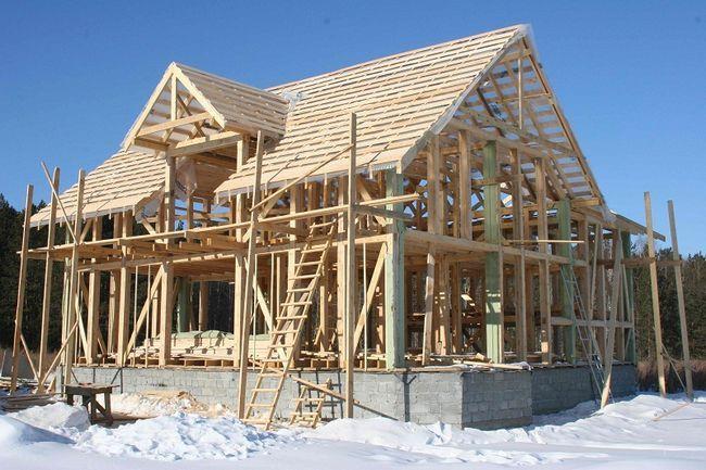 Фото - Як розрахувати кількість матеріалів для зведення каркасних споруд?