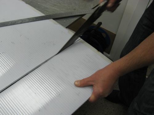 Фото - Як розрізати полікарбонат?