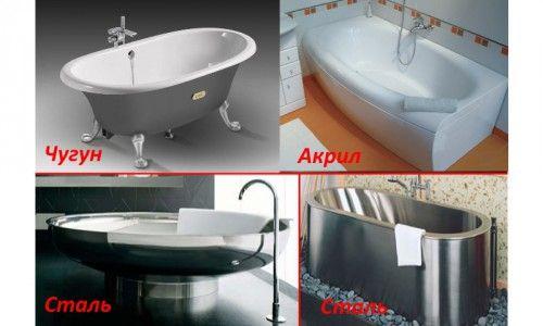 Фото - Як самому правильно вибрати ванну