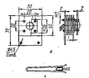 Схема розрахунку площі радіатора.