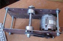 Електромотор для саморобної циркулярки