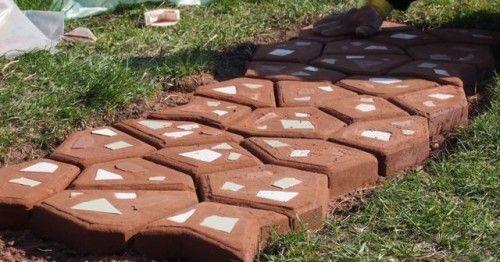 Фото - Як самостійно виготовити плитку для тротуару?