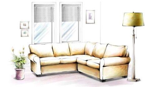 Фото - Як самостійно намалювати штору?