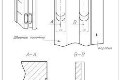 Схема врізки прихованої петлі