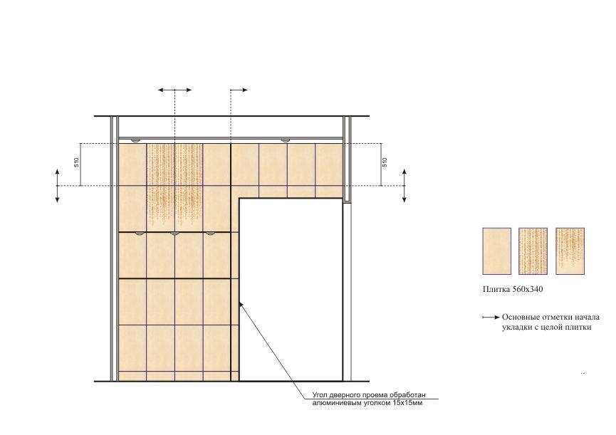 Схема укладання плитки в туалеті