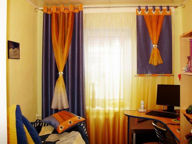 Фото - Як самостійно зробити петлі на штори?