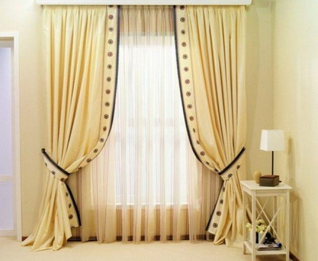 Фото - Як самостійно зшити штори зі складками?