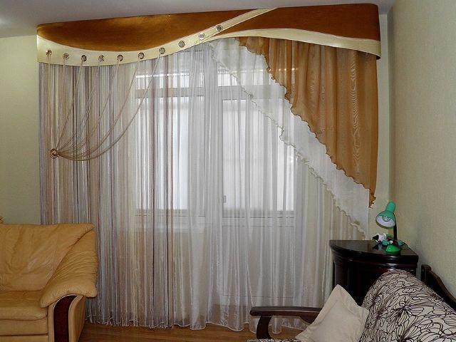 Фото - Як самостійно вибрати штори для залу?