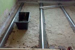 Маяки для стяжки підлоги