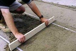 Фото - Як зробити бетонну стяжку: технологія процесу