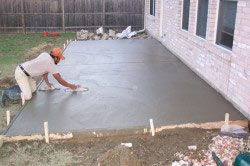 Зміцнення бетонної підлоги.