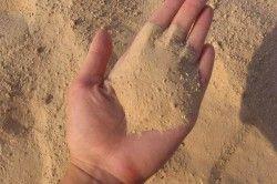 пісок для замісу розчину