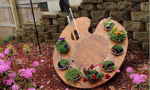 Як зробити декор для саду та городу?