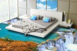 Декоративний підлога з плівкою